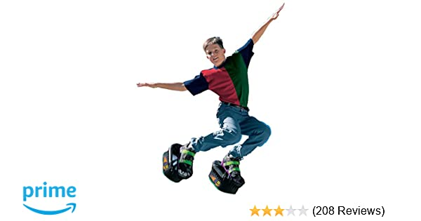 ef8c712b3b13d Amazon.com  Big Time Toys Moon Shoes Bouncy Shoes - Mini Trampolines For  your Feet - One Size  Toys   Games