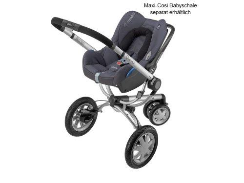 Quinny 60302970 inklusiv Sonnen- und Regenverdeck Buzz-Box und Adapter f/ür die Maxi-Cosi Babyschale Buzz 3 rocking black