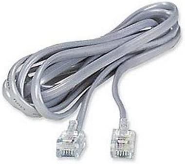 2Pack Telephone Line Cord Cable 6P6C RJ12 Modem Fax Phone 5M