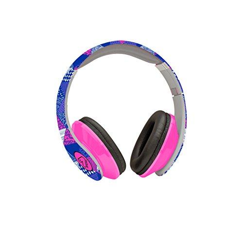 26bb7e00f9 Zaino SEVEN THE DOUBLE - DIGITAL - Rosa Blu - cuffie stereo WIRELESS con  grafica abbinata incluse! 2 zaini in 1 REVERSIBILE: Amazon.it: Sport e  tempo libero
