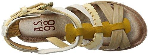 A.S.98 Noa - Tira de tobillo Mujer Beige (Grano/Dune/osso/Bianco)