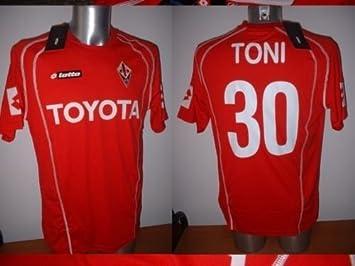Lotto Fiorentina - Adulto XL de Luca Toni Toyota Camiseta Jersey fútbol Maglia Italia Italia: Amazon.es: Deportes y aire libre