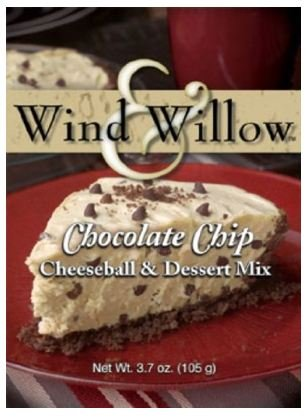 Wind and Willow Chocolate Chip Cheeseball & Dessert Mix - 3.7 Ounce (4 (Chocolate Chip Cheeseball)