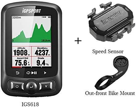 MTSBW Ordenador GPS para Bicicleta, Cronómetro Digital Bluetooth ...