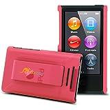 rooCase S1-TM Ultra Slim Translucent Matte Shell Case for Apple iPod Nano 7 (7th Generation), Pink