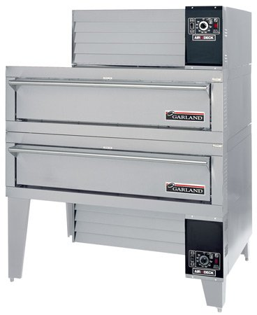 Garland G56PT/B Gas Double Air-Deck Pizza Oven 56