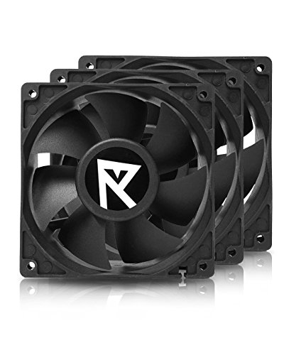 Hydra 120mm 4200rpm High Speed Fan for GPU Mining Rig Servers, 3 Pack