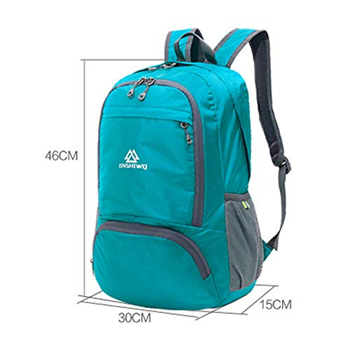 6177a502ae04 Amazon.com: XJRHB Skin Pack Ultra Light Foldable Travel Bag Backpack ...
