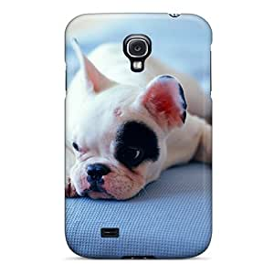 LvJC1144 Tpu Phone Case With Fashionable Look For Galaxy S4 - Animals Dogs Canine