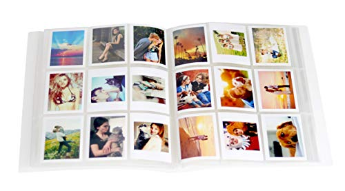 Borya 288 Pockets 2×3 inch Photo Album with Stickers for Fujifilm Instax Mini 9 8 8+ 70 7s 90 25 26 50s, Pringo P231, Instax SP-1 SP-2, Polaroid Snap, Snap Touch, Name Card & 3 Inch Pictures.