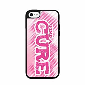 Find a Cure 2-Piece Dual Layer Phone Case Back Cover iPhone 4 4s