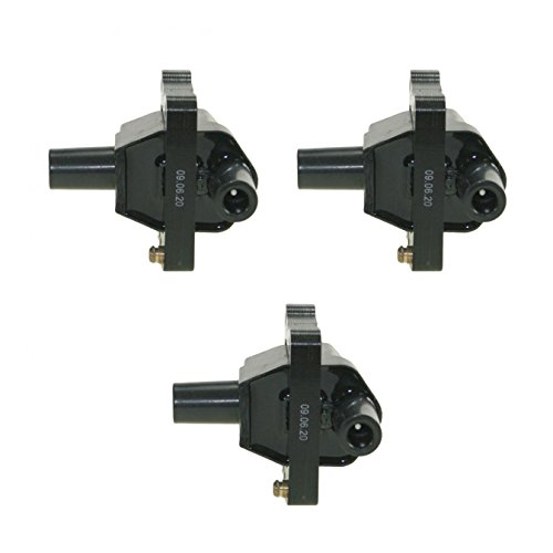 Ignition Coil Kit Set of 3 for Mercedes E320 S320 SL320 300 W124 W129 W140 (300+ Ignition Kit)