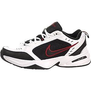Nike Men's Air Monarch IV Training Shoe (White / Black / Varsity Red, 10.5 D(M) US)