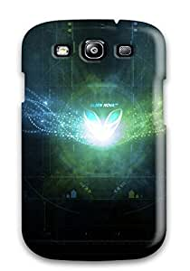 New KUmuZlx4939DfCvc Treble Clef Abstract Skin Case Cover Shatterproof Case For Galaxy S3
