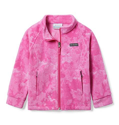 Columbia Baby Benton Springs II Printed Fleece, pink ice camo, 3/6