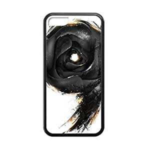 black 9 white background personalized high quality cell phone case for ipod touch4