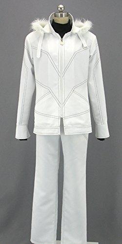 Accelerator Cosplay Costume (Onecos Toaru Majutsu No Index Accelerator White Cosplay Costume 2)