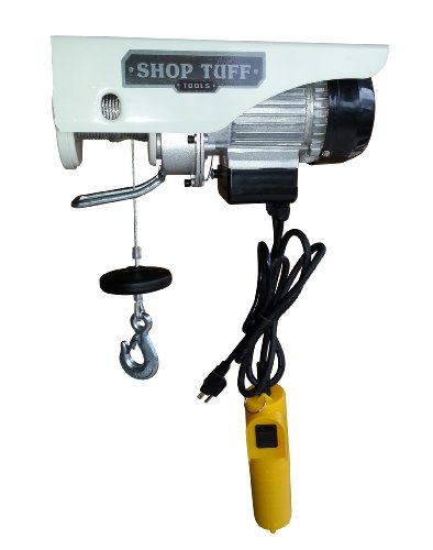 Shop Tuff STF-2244EH Electric Cable Hoist Review