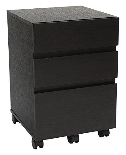 3 drawer espresso file cabinet - 1