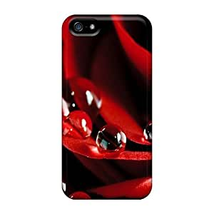 WUrsOrQ2156xifUR Case Cover, Fashionable Case For Iphone 5/5S Cover CaRose Flower Wallpaper Free9