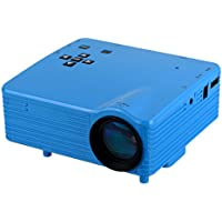 24W Mini LED Home Theater Projector w/ HDMI, USB, AV - Blue