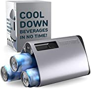 The InnoChiller – Speed Up Your Freezer, for All Types of Beverages, Wine Chiller, Beer Cooler, Ice Cube Maker