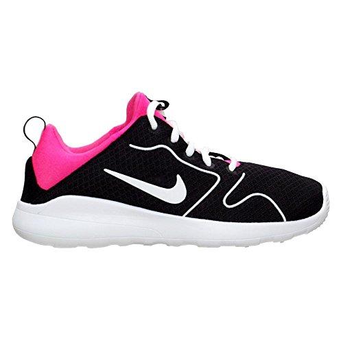 Nike Mädchen Kaishi 2.0 (GS) Laufschuhe black-white-hyper pink (844668-001)