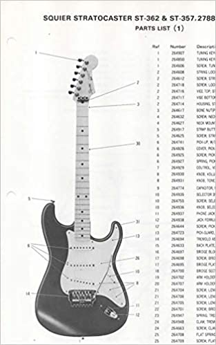 Super Parts List Diagram For Fender St 262 St 357 Electric Guitar 278800 Wiring Cloud Hisonuggs Outletorg