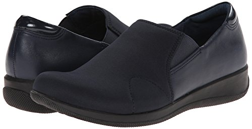 Soft Softwalk Navy burnished 6 Leather Black Us Stretch Tilton Women's Mule patent N Kid q1Oq8R