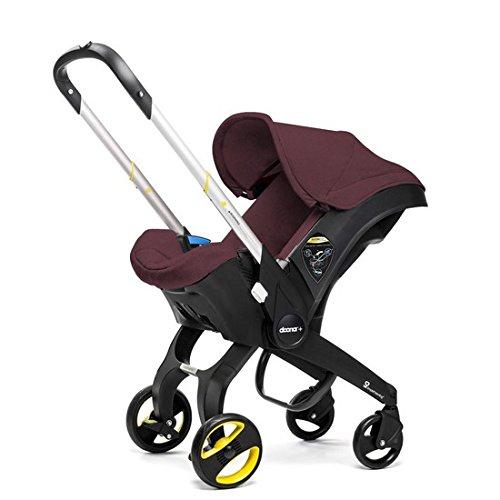 Doona Infant Car Seat & Latch Base - Cherry/Burgundy - US Version ()