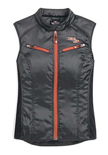 Harley-Davidson Women's RCS Riding Vest Black 98388-11VW