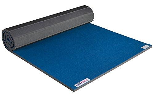 EZ Flex 5' x 10' Home Cheerleading/Gymnastics Mat (Blue) by EZ Flex Sport Mats (Image #3)