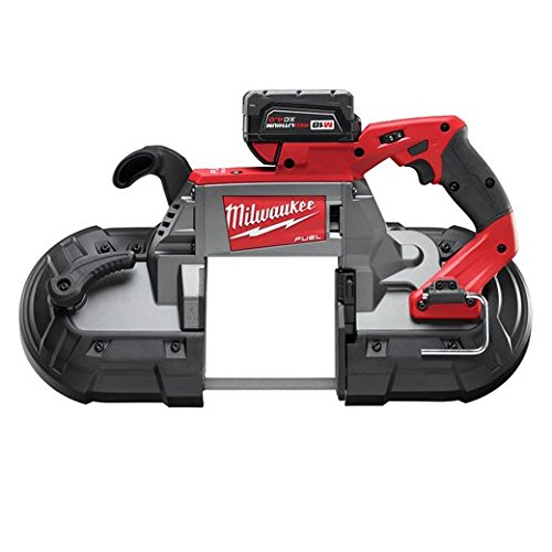 (Milwaukee 2729-21 M18 Fuel Deep Cut Band Saw 1 Bat Kit)