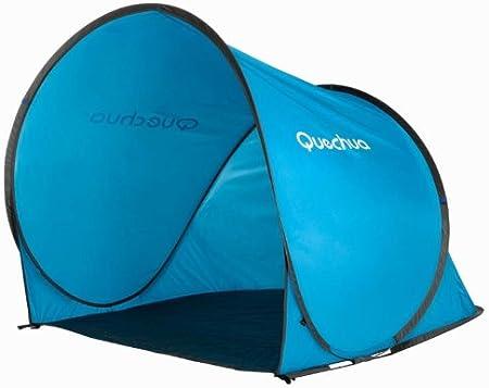 Quechua - Refugio con sistema pop-up (montaje en 2 segundos), color azul: Amazon.es: Deportes y aire libre