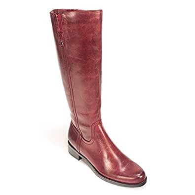 Blondo Women's Vanylle Boot,Burgundy Brushed Leather,7.5 M US
