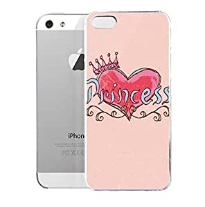 Light weight with strong PC plastic case for iPhone iphone 6 4.7 Artists Peter Horjus Princess Crown Pink