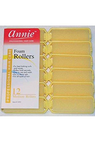 ((3 Packs) Annie Foam Rollers Medium 7/8