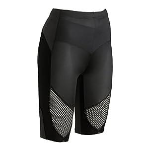 CW-X Women's Stabilyx Ventilator Shorts (Black, Medium)