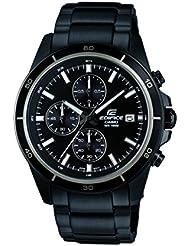 Casio EFR-526BK-1A1VUEF - Men's Watch, Watch Band Stainless Steel Black Tone