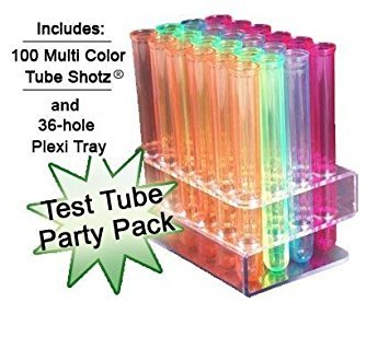 Test Tube Party Pack-100 Tube SHOTZ, 36-hole rack