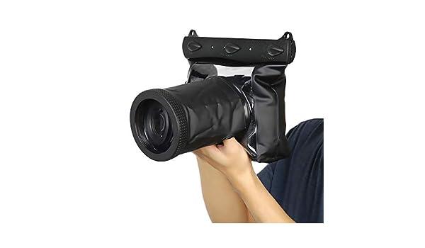 Delmo - Funda Impermeable para cámara réflex Digital Canon, Funda ...