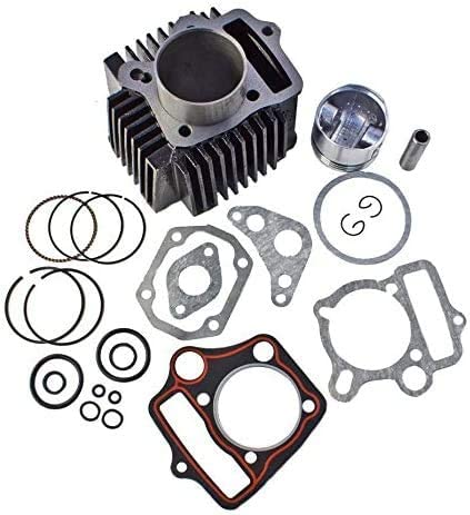 54mm 125cc Cylinder To End Kit 1P54FMI ROKETA COOLSTER SSR BMS Chinese ATV Dirt Bike