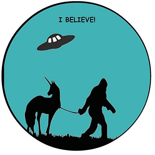 I Believe! Bigfoot Unicorn Flying Saucer 3.5