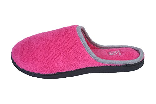 Terry Slipper House Roxoni Scuff Womens and Outdoor Hot Pink Z1ZUxwF