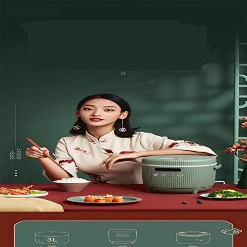 220 V Multi-Function électrodomestiques Rice Cooker 3L électrique Cuisinière calendrier (Color : Dark pink, Size : EU plug)