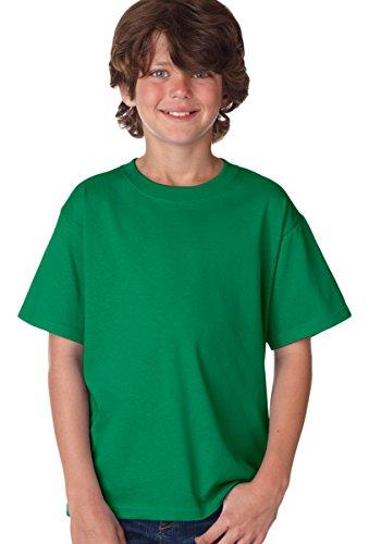- Fruit of the Loom Boys 5 oz.Heavy Cotton HD T-Shirt (3931B) -Clover -XL