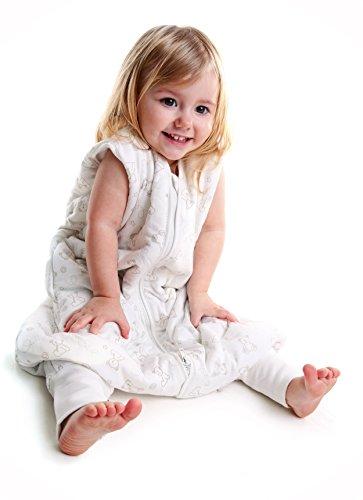 Oso 2.5 Tog Saco de Dormir con Pies para Ni/ño Slumbersac aprox 24-36 meses