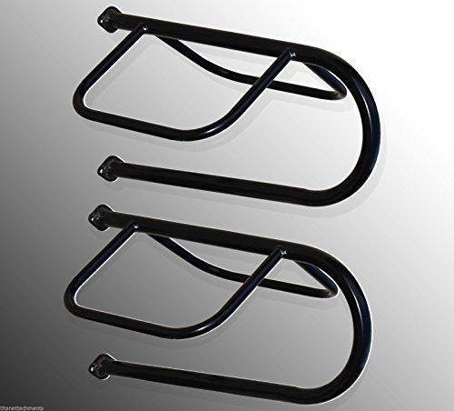PAIR Titan wall mounted saddle racks display horse equestrian hanger steel (Saddle Rack Wall)