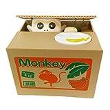 Mischief Saving Box Stealing Coin Piggy Bank, Monkey
