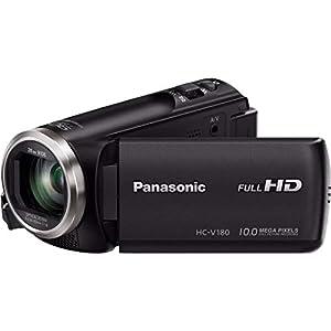 Flashandfocus.com 41Pu7tthzAL._SS300_ Panasonic Full HD Camcorder HC-V180K, 50X Optical Zoom, 1/5.8-Inch BSI Sensor, Touch Enabled 2.7-Inch LCD Display (Black…